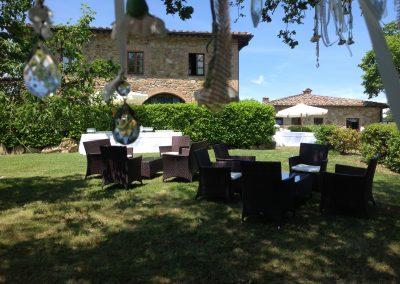 villa for wedding in tuscan countryside Le Bolli Siena