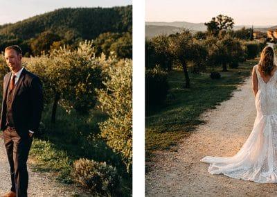 Wonderful wedding in the Tuscan countryside