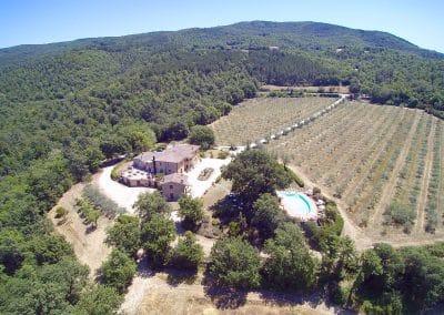 Tuscan villa for holiday and wedding  villa Le Bolli Siena