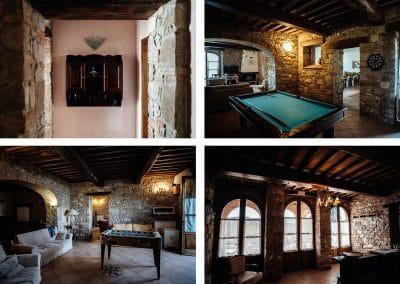 Bio farmhouse villa Le Bolli Siena Tuscany