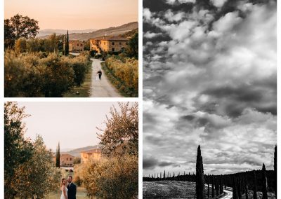 Wonderful wedding in the Tuscan countryside