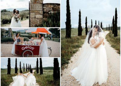 Chloe & Maryanne, wedding Le Bolli