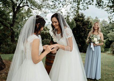 Wedding Le Bolli, Chloe&Maryanne 5