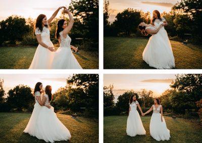 Wedding Le Bolli, Chloe&Maryanne 8